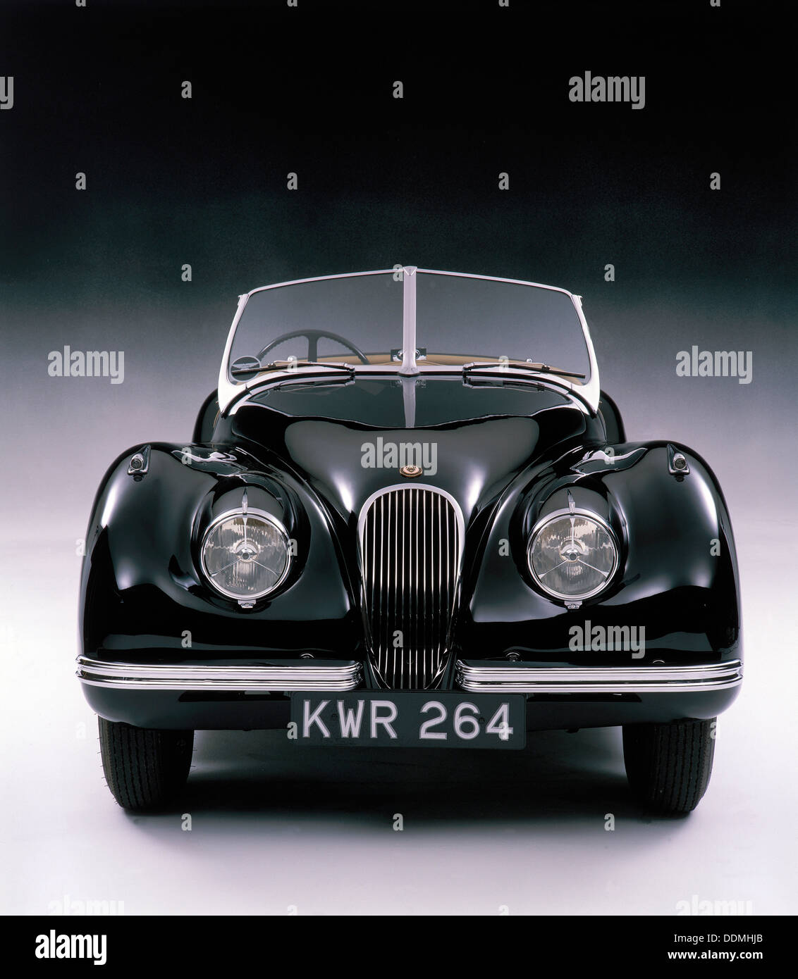1950 Jaguar XK 120. - Stock Image