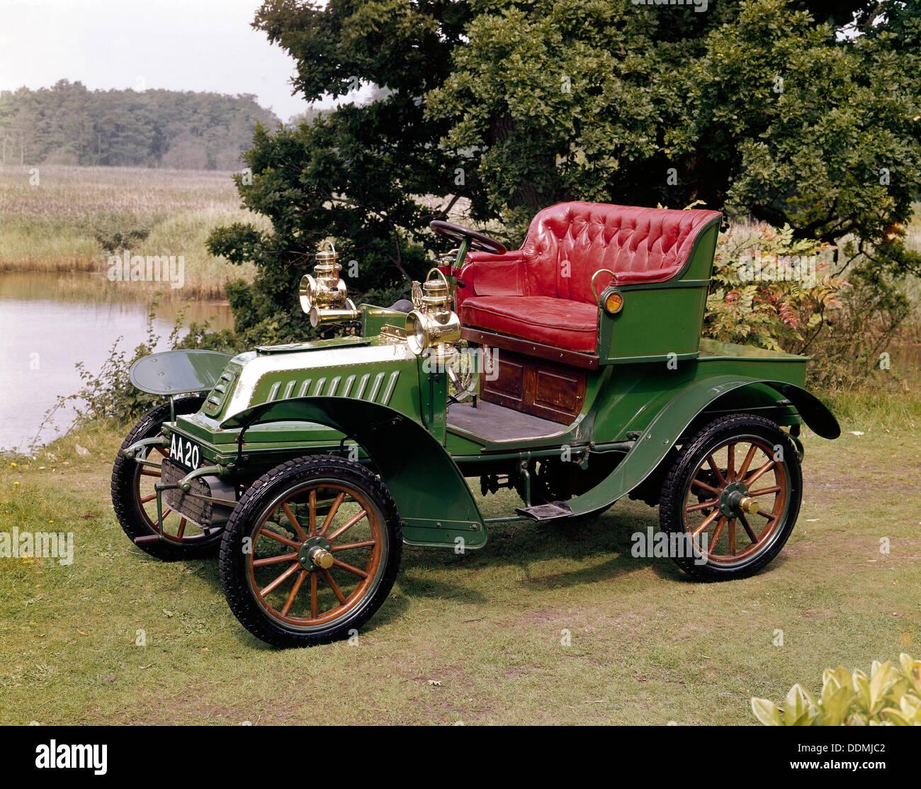 A 1903 De Dion Bouton Model Q. - Stock Image