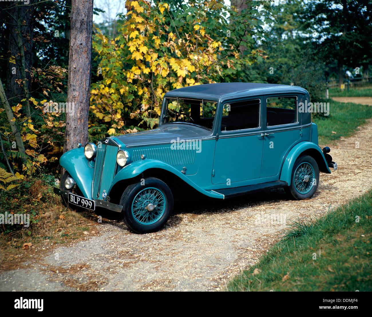 A 1934 Lancia Augusta. - Stock Image