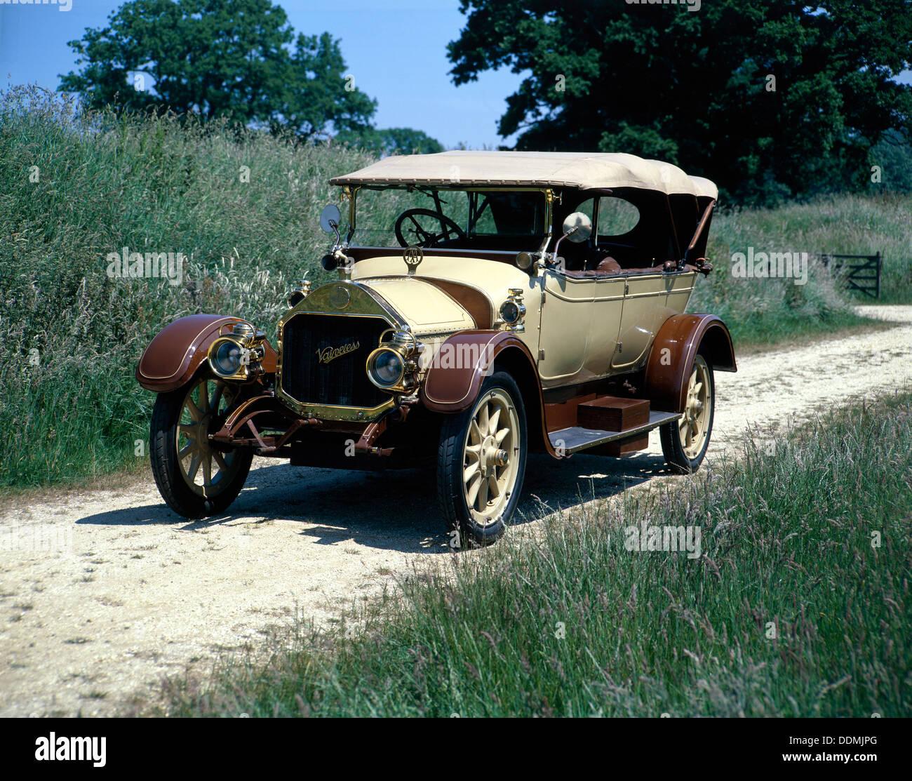 A 1914 Valveless 19.9hp. - Stock Image