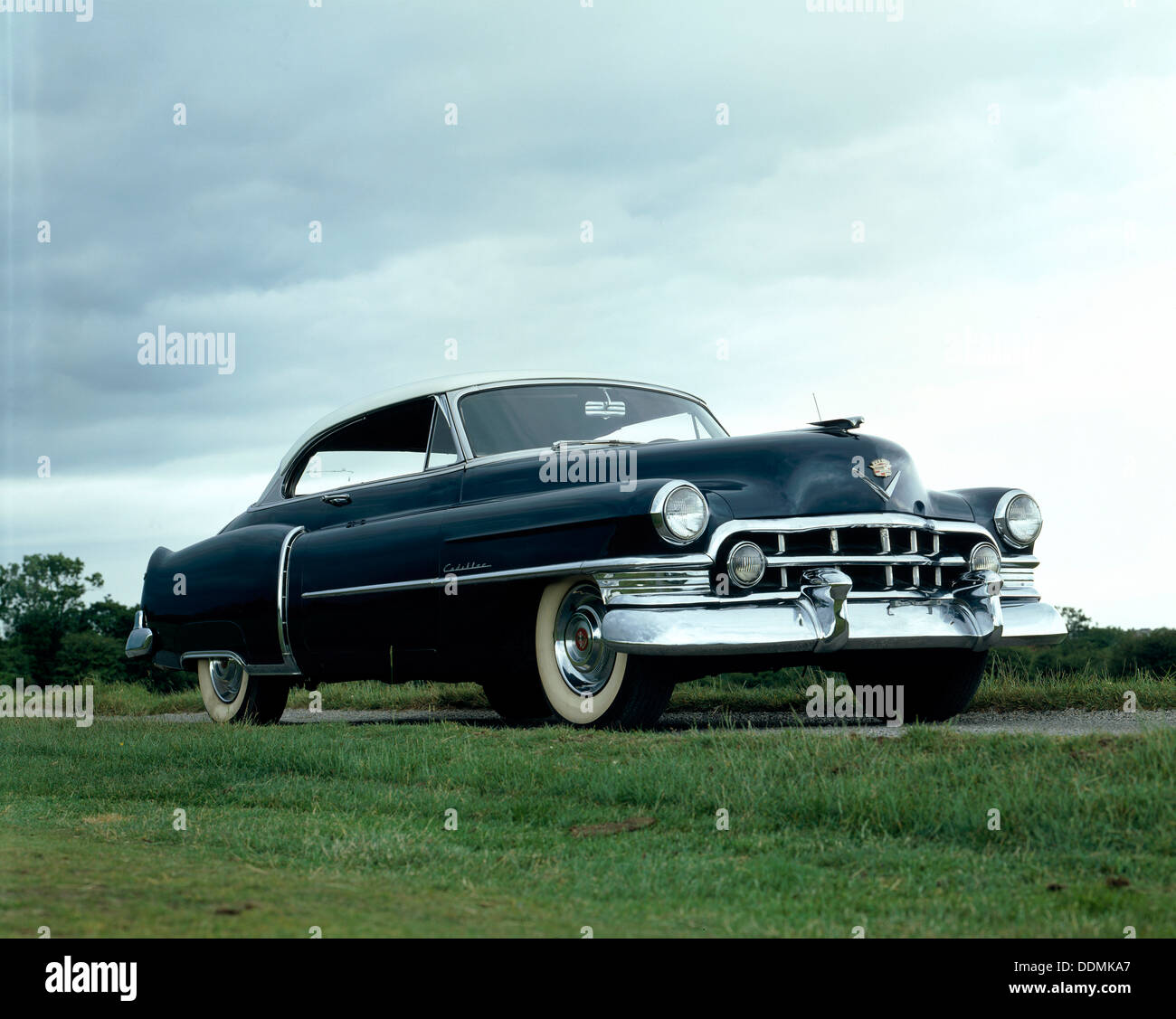 A 1950 Cadillac 60S 2 Door Coupe. - Stock Image