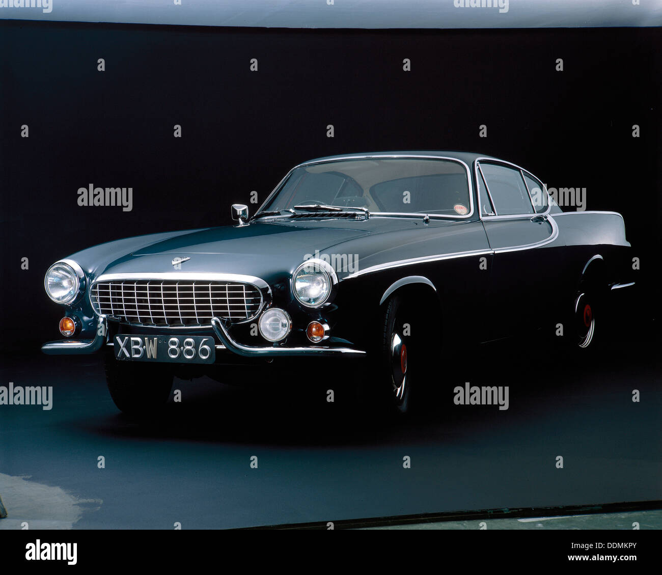 A 1962 Volvo P 1800S. - Stock Image