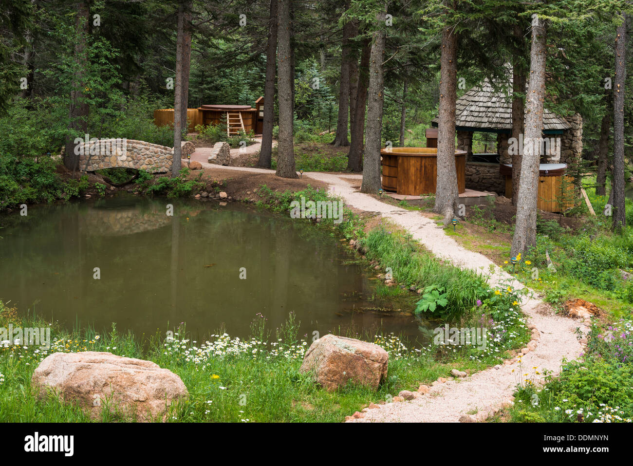 Hot Tubs Stock Photos & Hot Tubs Stock Images - Alamy