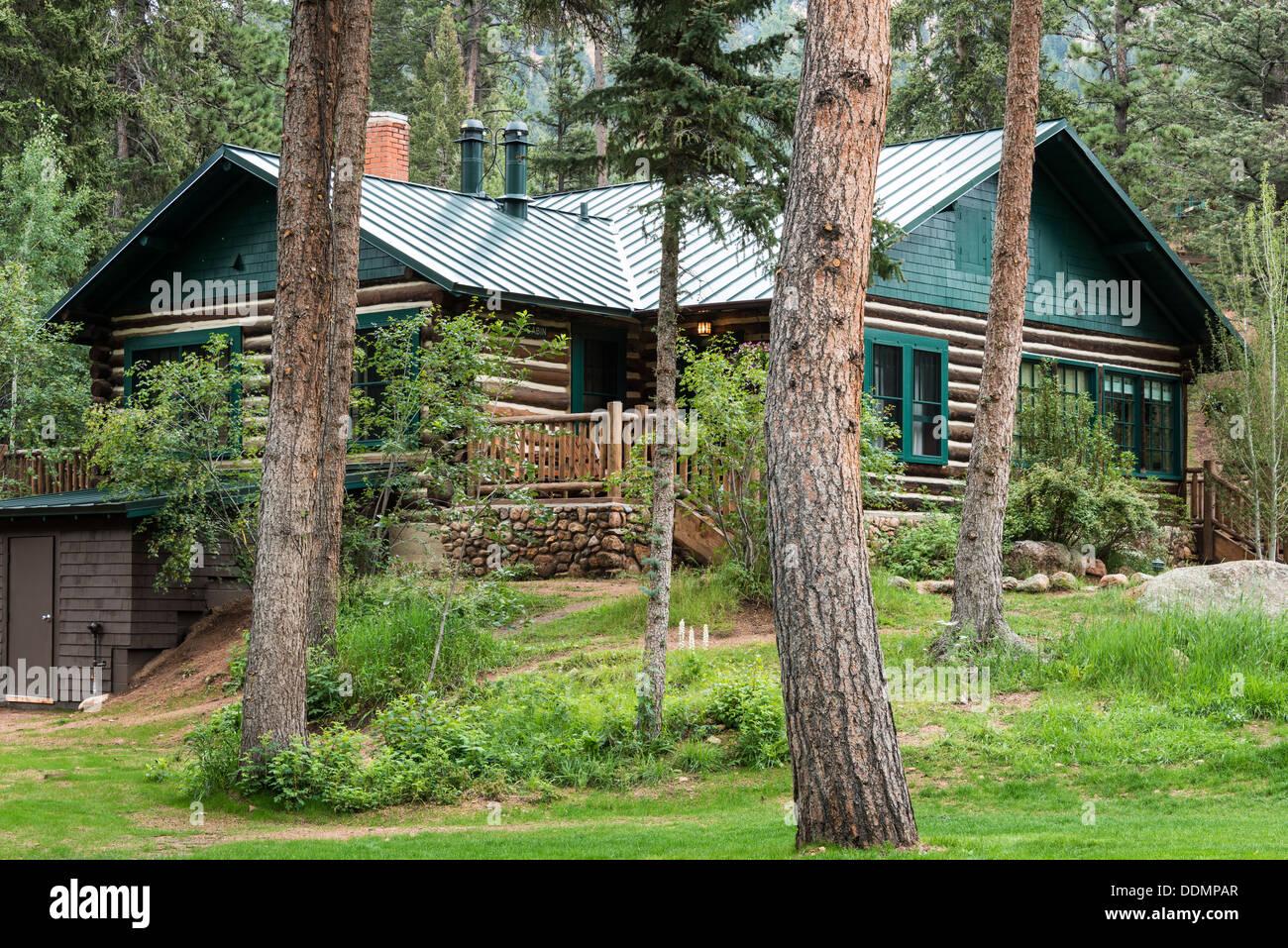 Cabins, Broadmoor Ranch at Emerald Valley, Colorado Springs