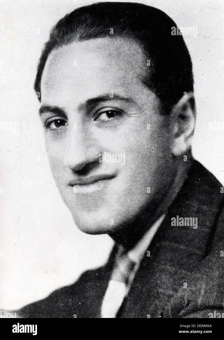 George Gershwin (1898 - 1937). - Stock Image
