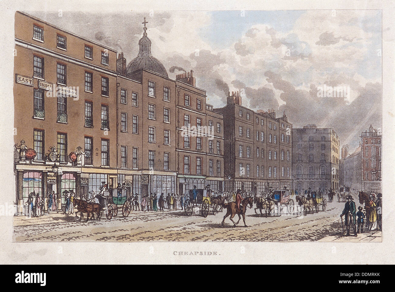 Cheapside, London, 1813. Artist: Anon