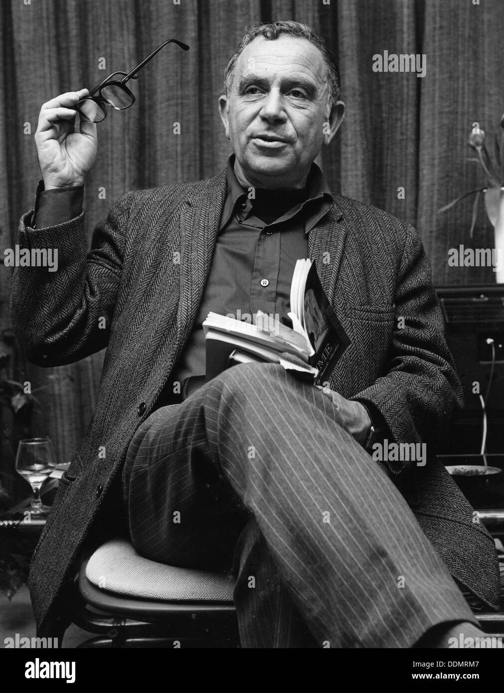 Yehuda Amichai (1924-2000), Hebrew Poet. - Stock Image