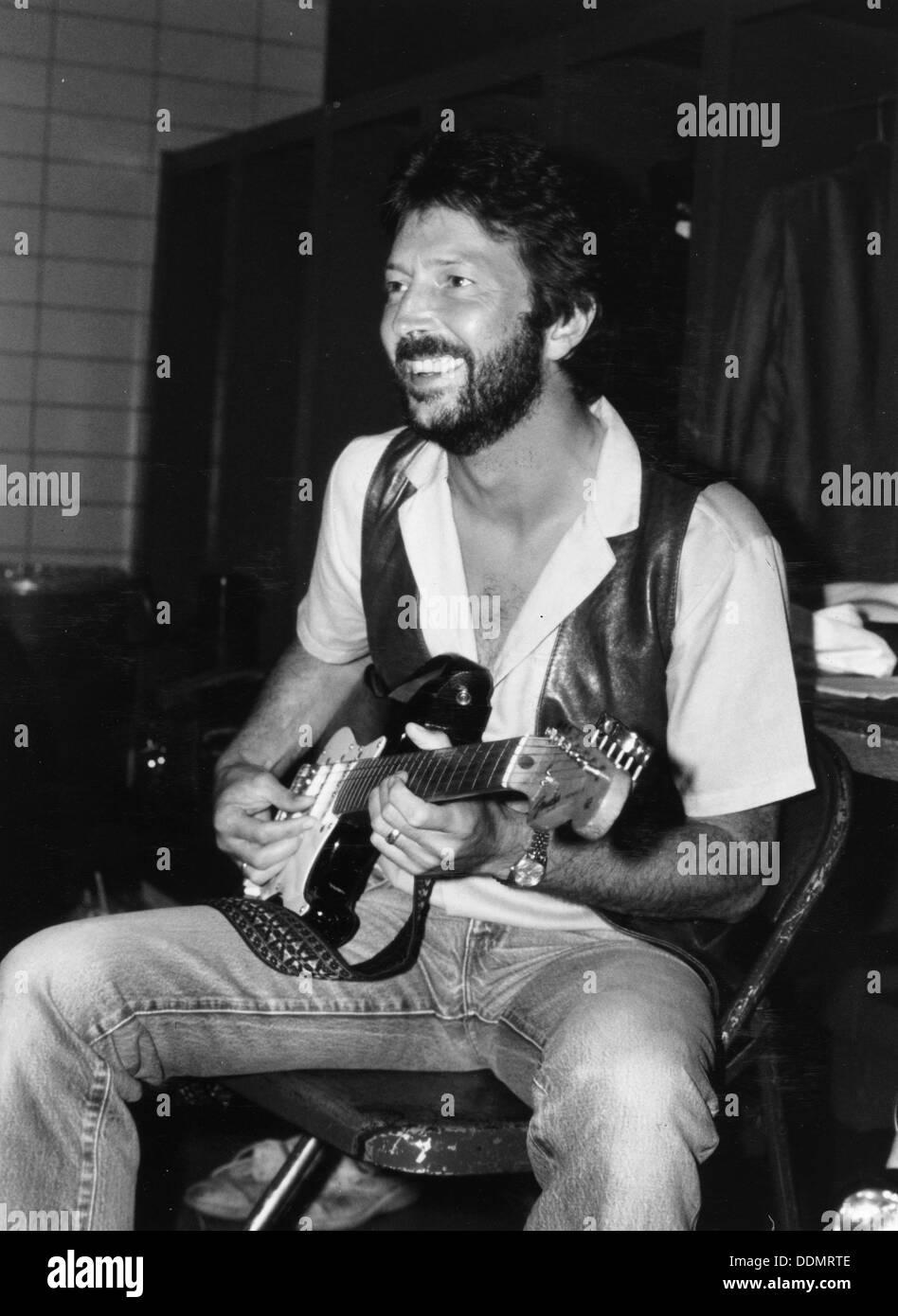 Eric Clapton (1945- ), British musician,1983. - Stock Image