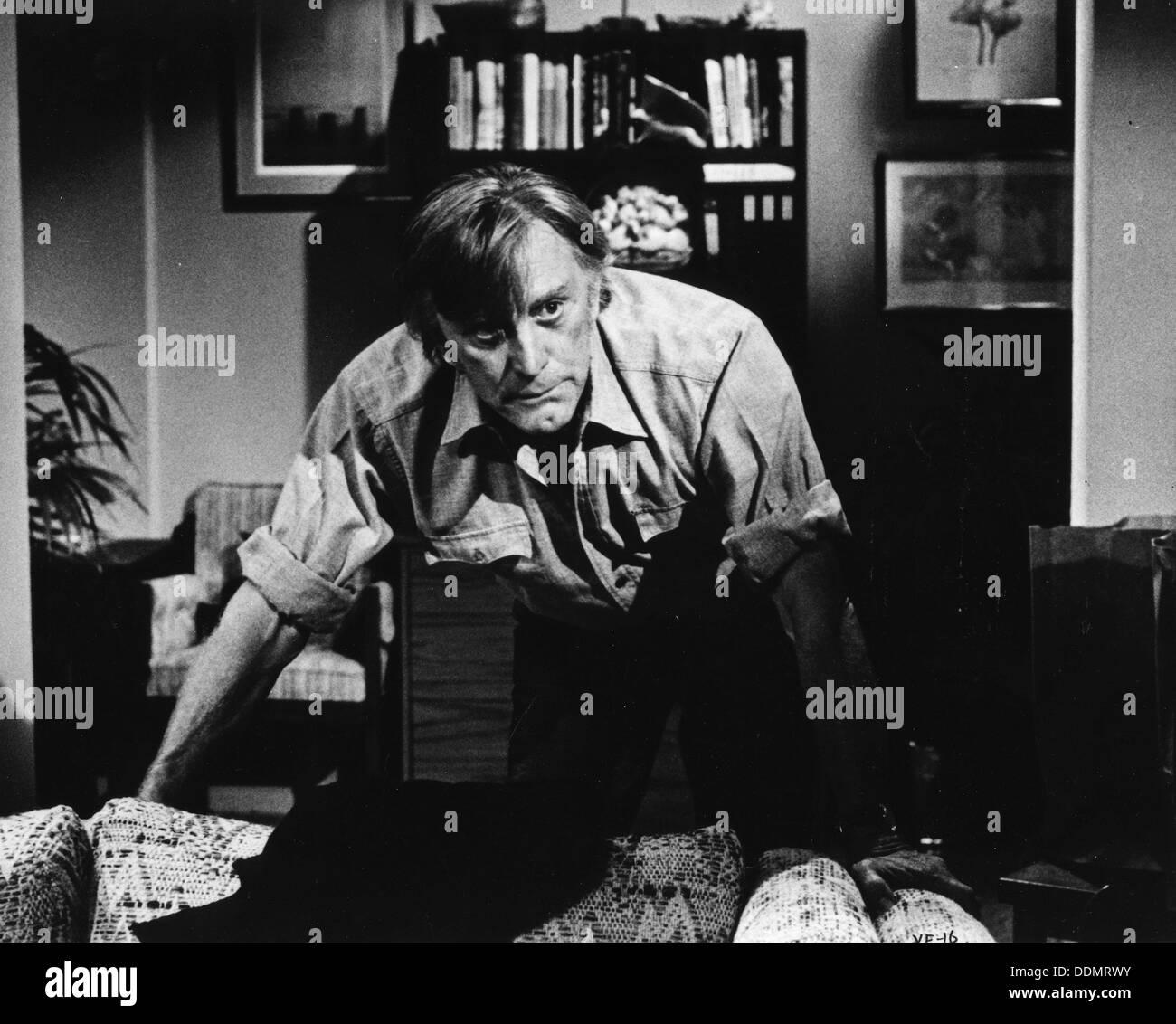 Kirk Douglas (1916- ), American actor, 1976. - Stock Image