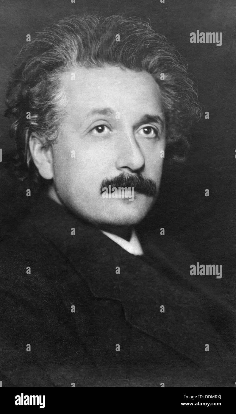 Albert Einstein (1879-1955), German, Physicist. Stock Photo