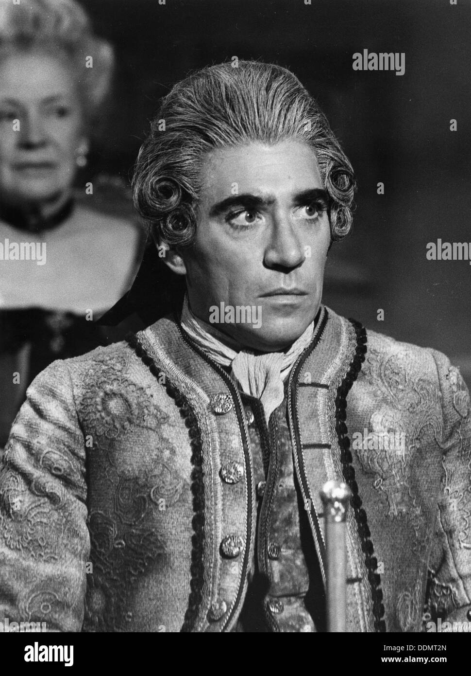 Frank Finlay (1926- ), British actor as Cassanova in 'Window, Window'. - Stock Image