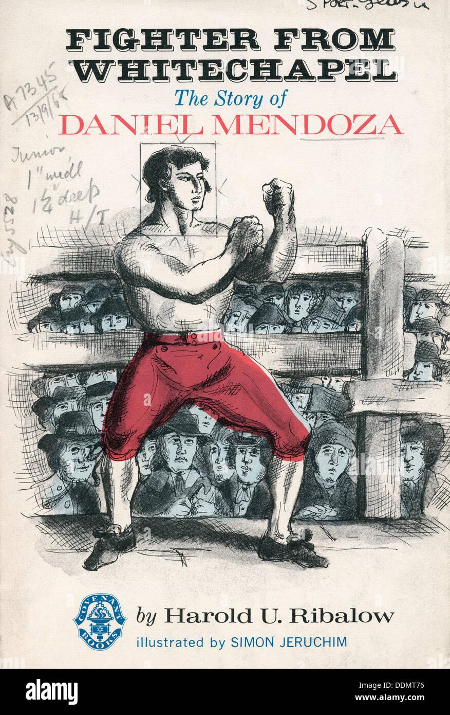 Daniel Mendoza (1764-1836), Jewish boxer. - Stock Image