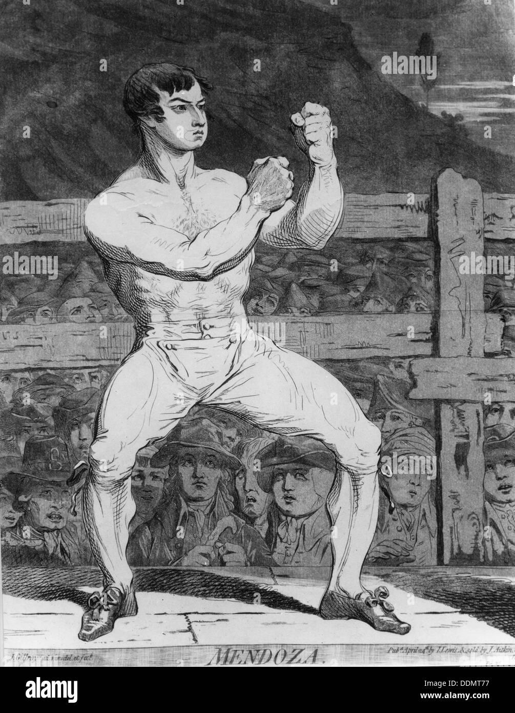 Daniel Mendoza (1764-1836), Jewish boxer.