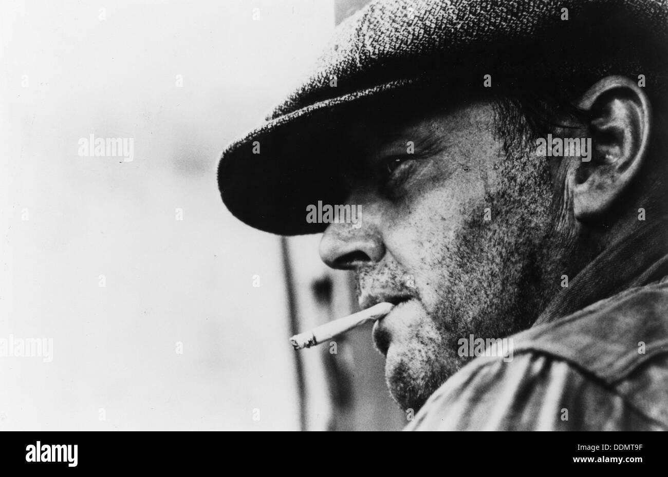 Jack Nicholson (1937- ), American actor, 1975. - Stock Image