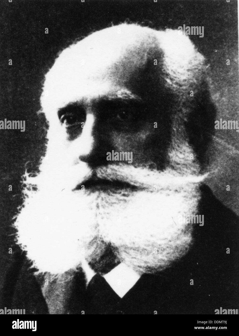 Max Nordau (1849-1923), Hungarian writer. Stock Photo