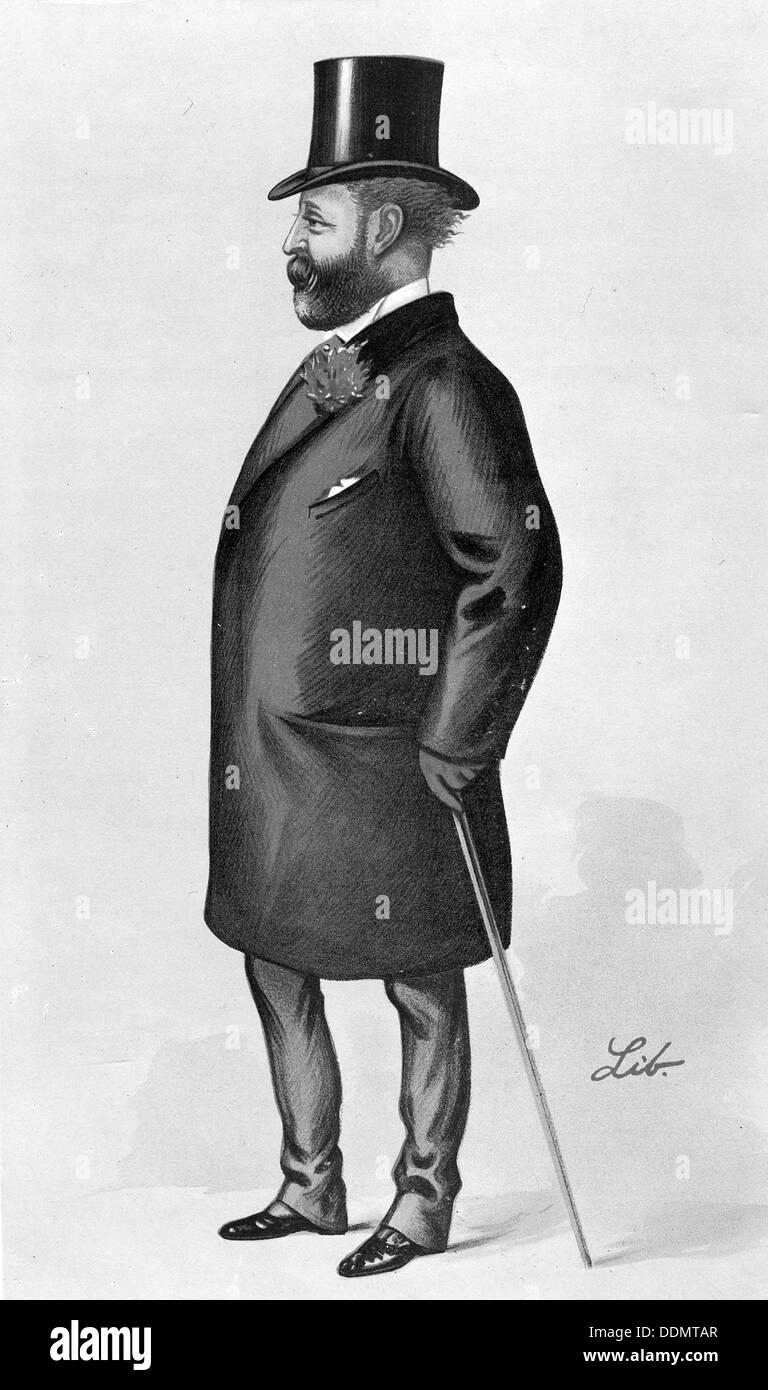 Lionel Nathan de Rothschild (1777-1836), German banker. Stock Photo