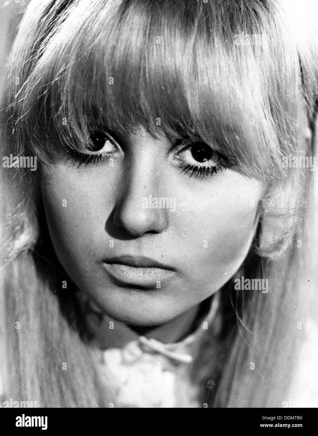 Adrienne Posta (1948- ), American actress, 1971. - Stock Image