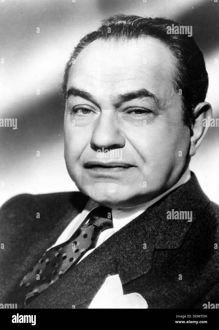 Edward G Robinson (1893-1973), American actor, 1964. - Stock Image