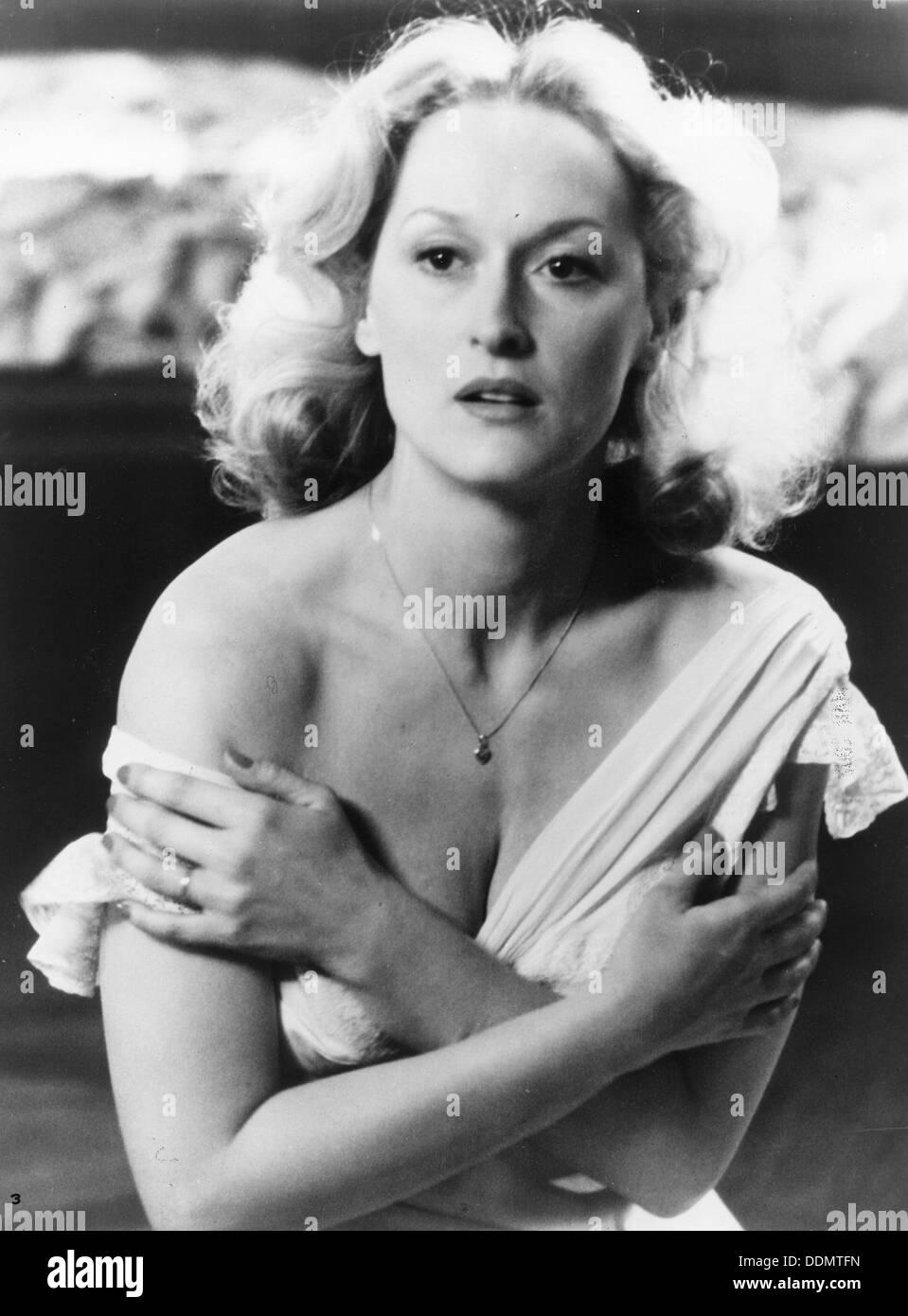 Meryl Streep (1949-), American actress, 1983. - Stock Image