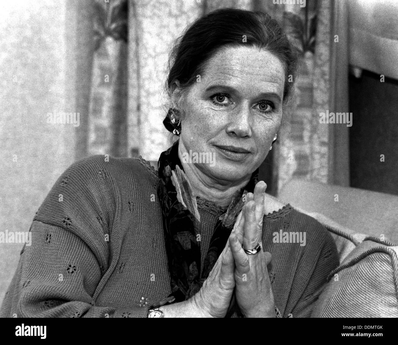 Liv Ullmann (1932- ), Norwegian actress, 1993. Artist: Sidney Harris - Stock Image