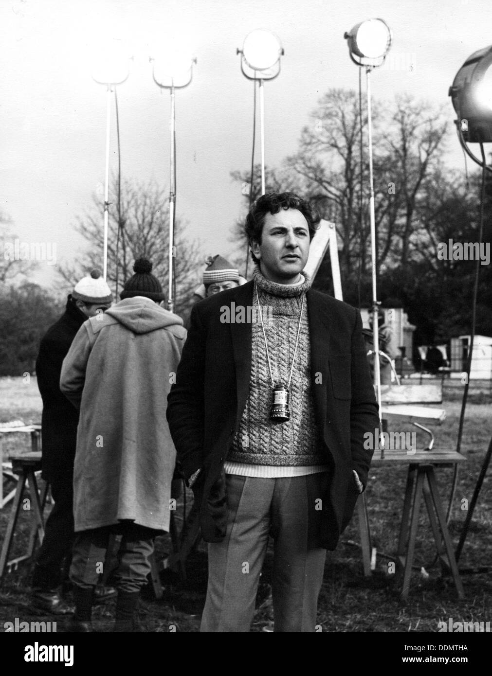 Michael Winner (1935- ), British Film maker. - Stock Image