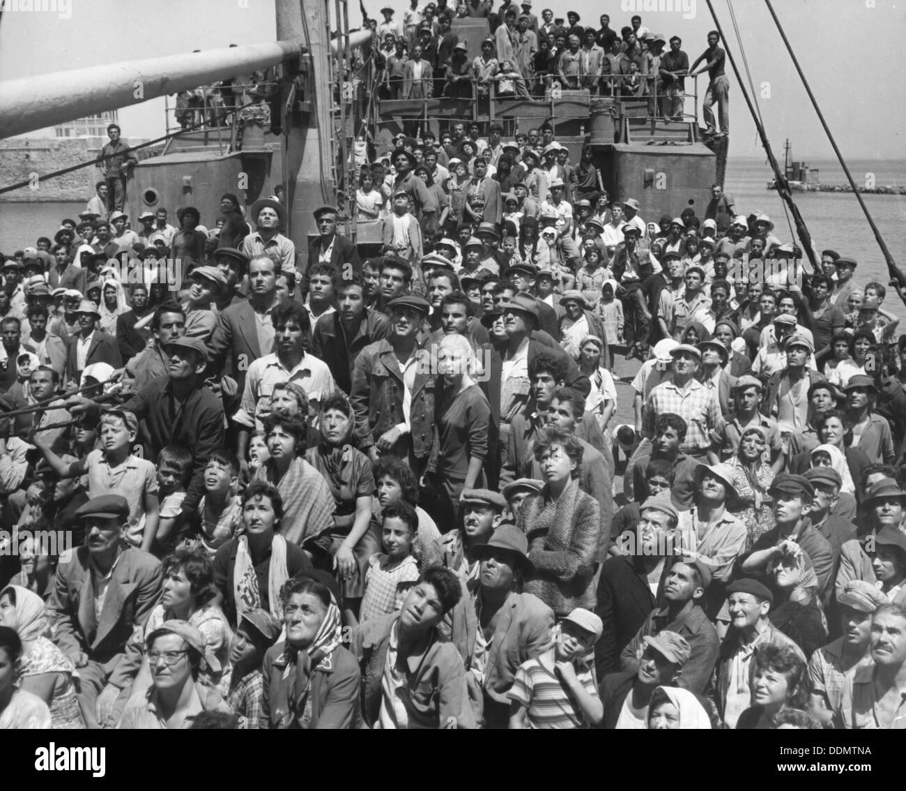 Scene from the film Exodus, 1960. - Stock Image