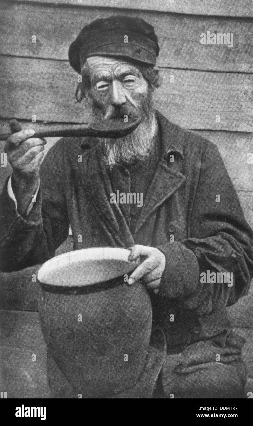 Russian peasant, c1902. - Stock Image
