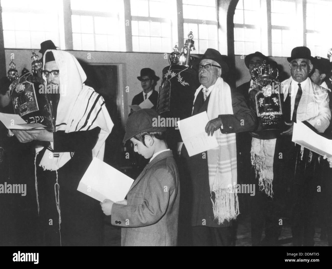 Sephardic Jews, 1965. - Stock Image