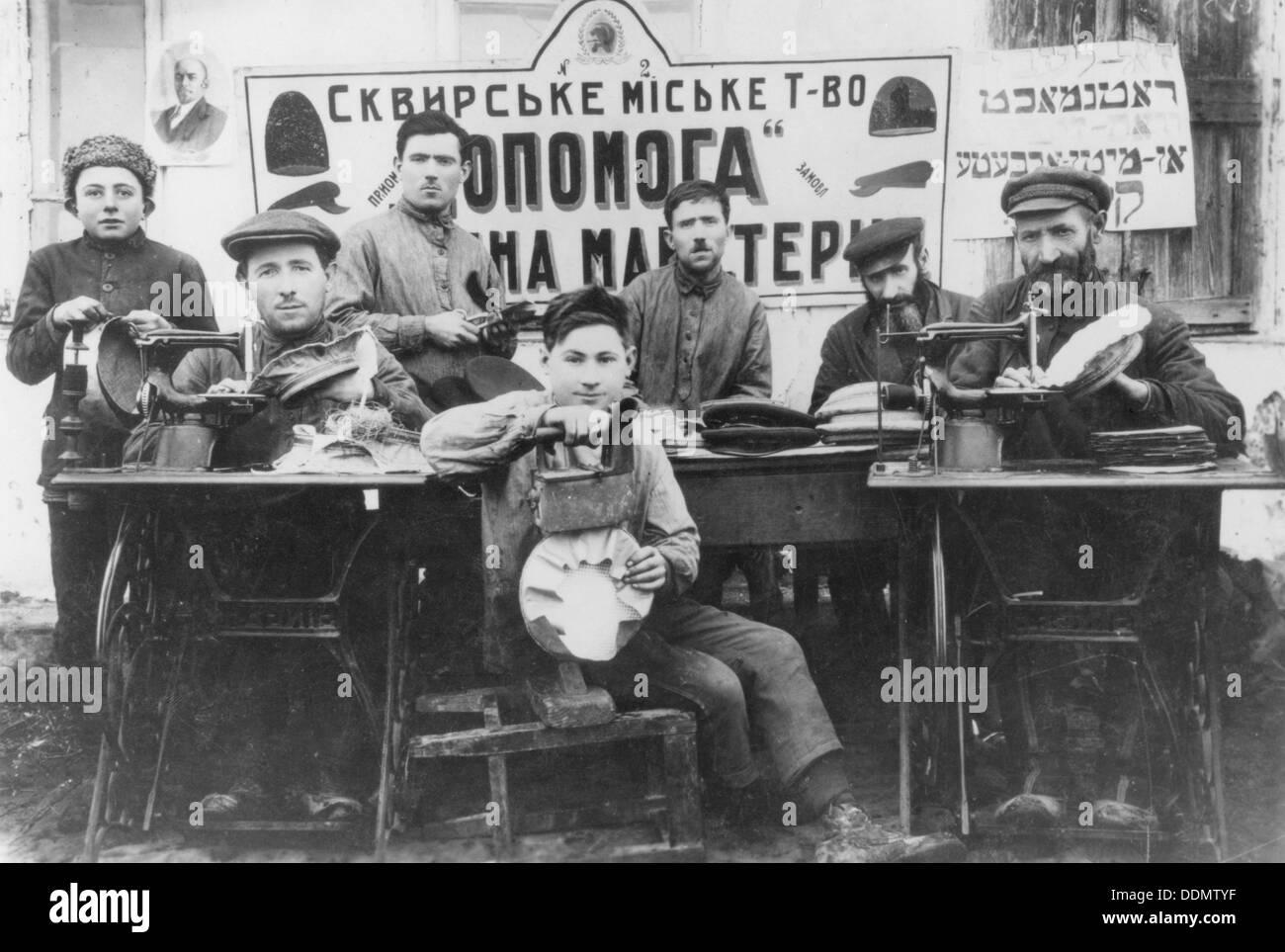 Russian Jews, c1920s? - Stock Image
