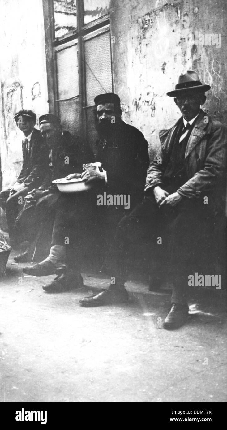 Warsaw Ghetto, Poland, World War II, 1940-1945. - Stock Image
