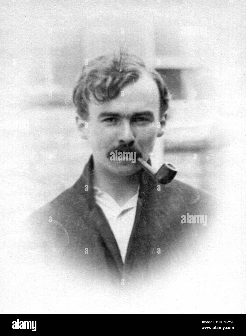 George Butterworth, British composer and folk music collector, c1910. - Stock Image