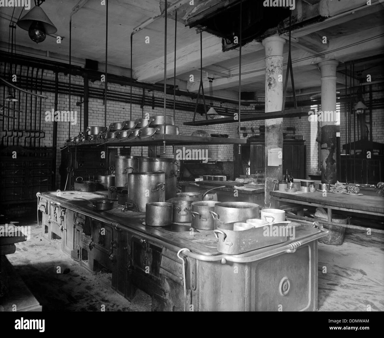 The Savoy Hotel Kitchen, The Strand, Westminster, London
