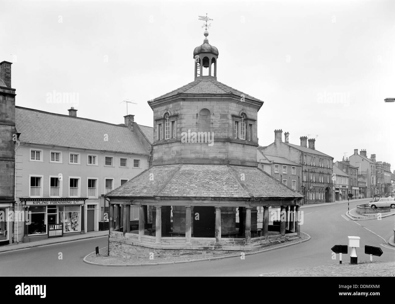 The Market Hall, Barnard Castle, Durham. - Stock Image
