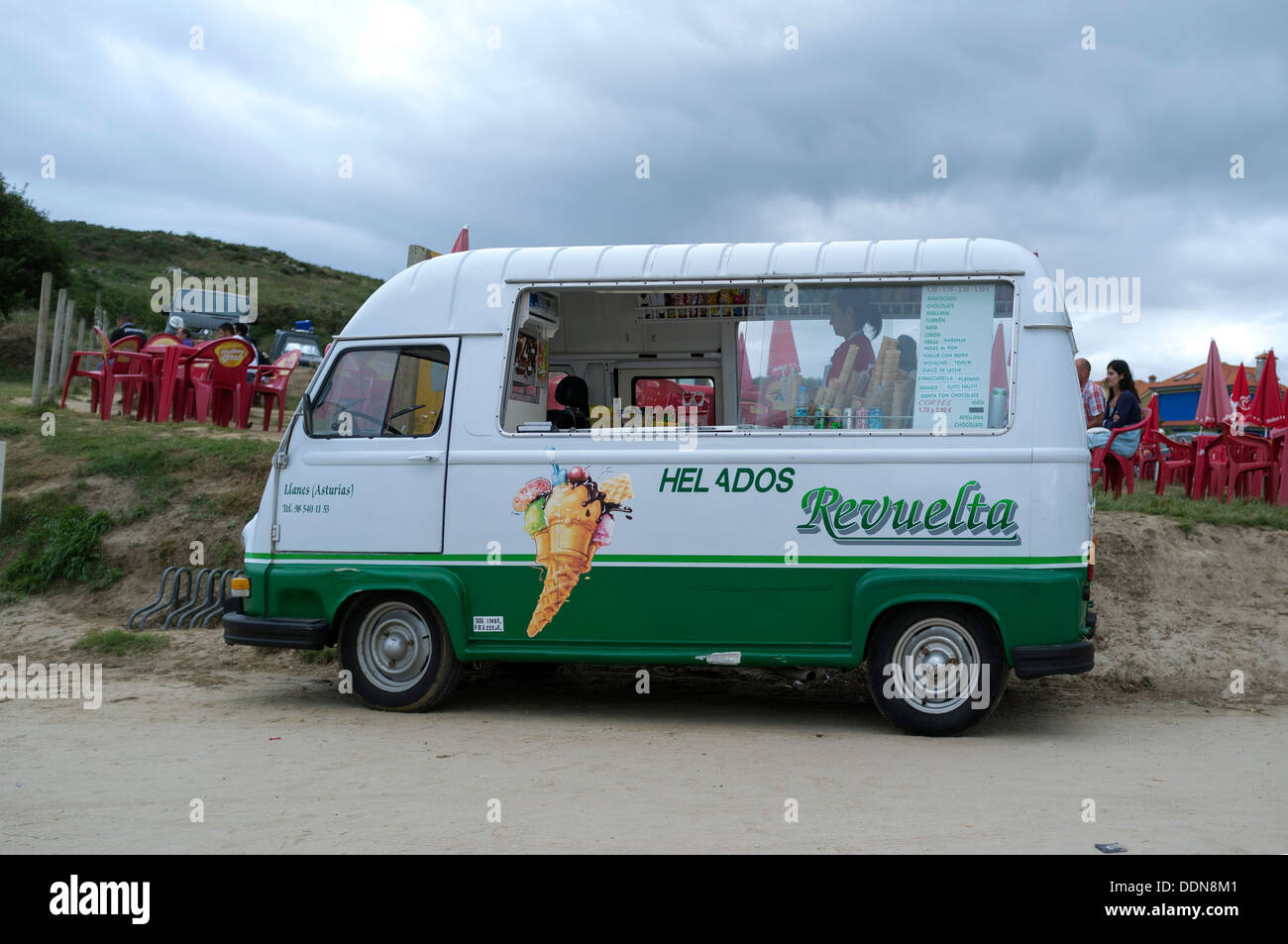 a660e05a32 Ice cream van in Cantabria
