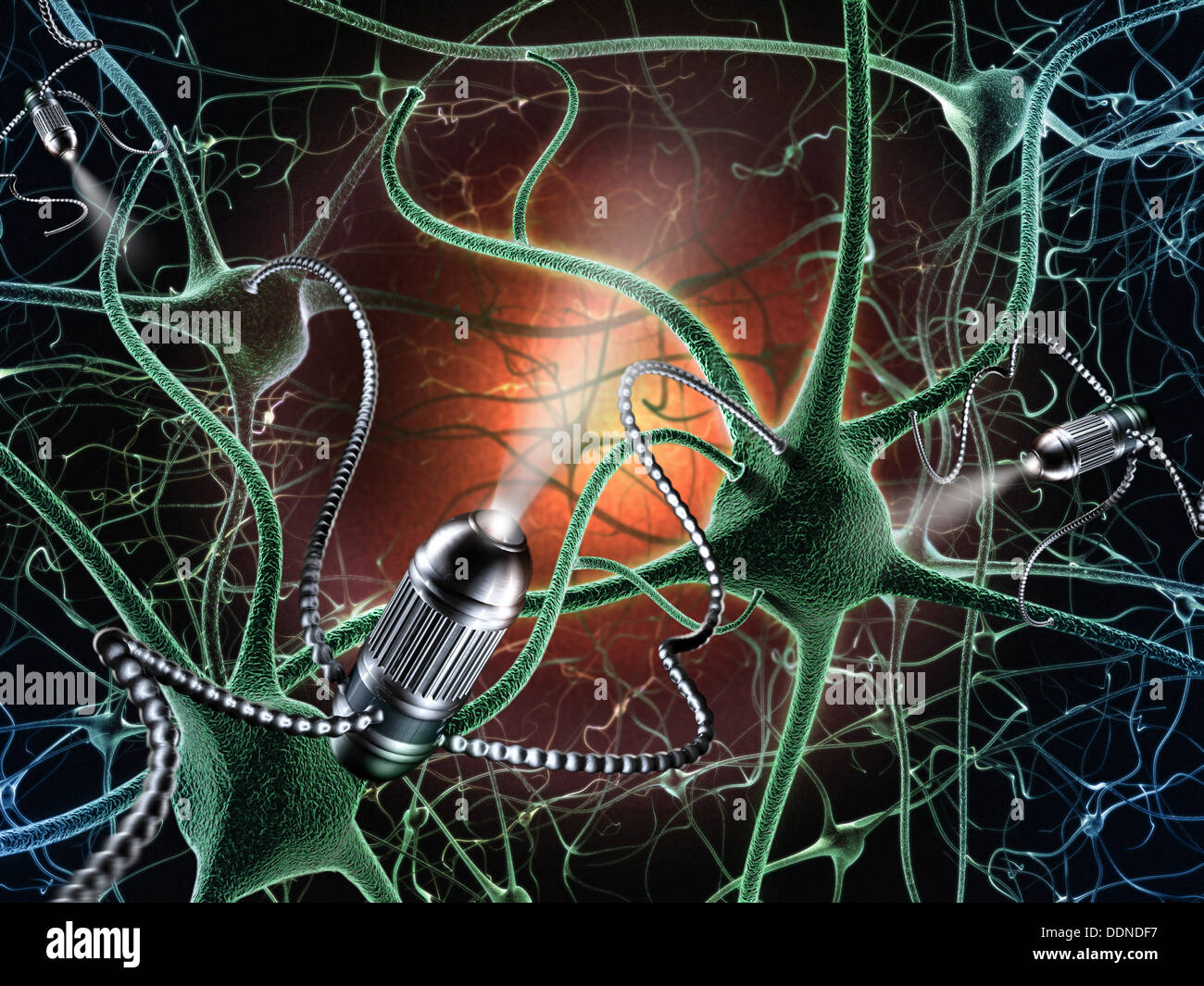 The United States of the Solar System, A.D. 2133 (Book Ten) - Page 32 Nerve-cells-and-nano-robot-in-a-brain-nanobot-DDNDF7