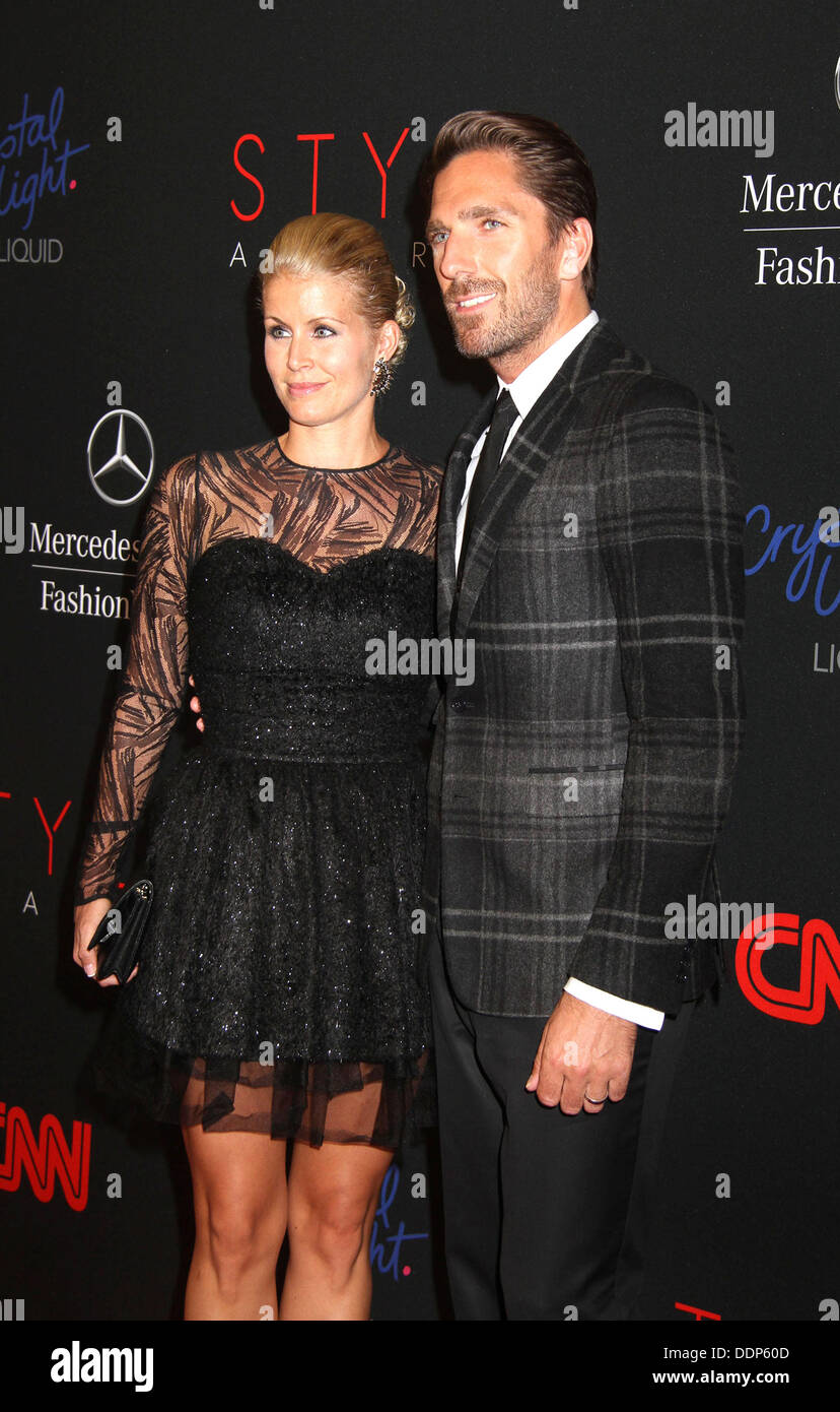 Henrik Lundqvist With Wife Therese Andersson Stock Photos Henrik