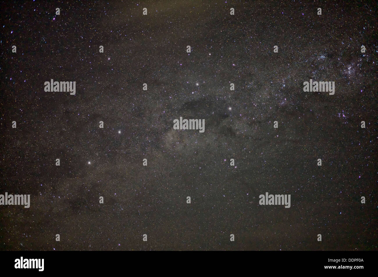 Milky Way Galaxy. Bora Bora. - Stock Image