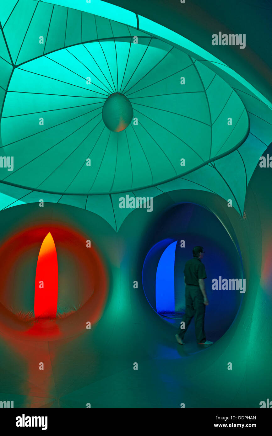 Inside the Amococo Luminarium at Bournemouth, Dorset UK in September Credit:  Carolyn Jenkins/Alamy Live News Stock Photo