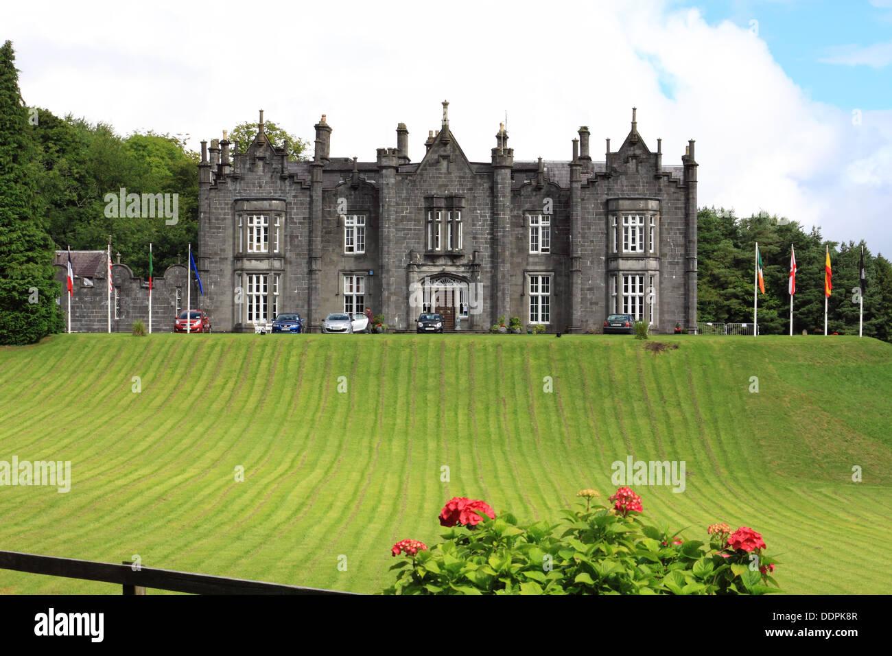 Belleek Castle Hotel, Ballina, County Mayo, Ireland - Stock Image