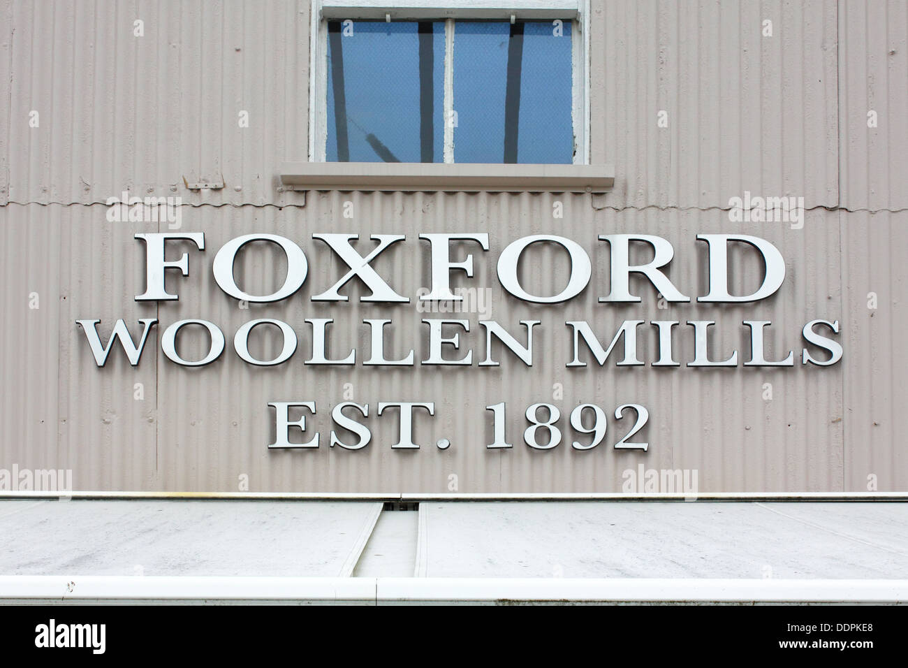 Foxford Woollen Mills,County Mayo, Ireland - Stock Image