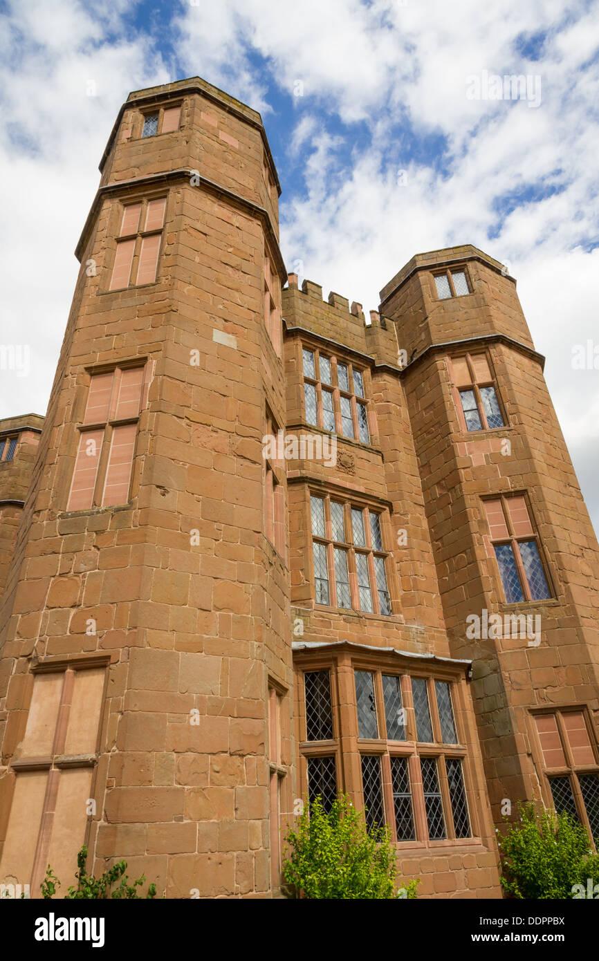 The Gatehouse at Kenilworth Castle, Warwickshire, England. - Stock Image