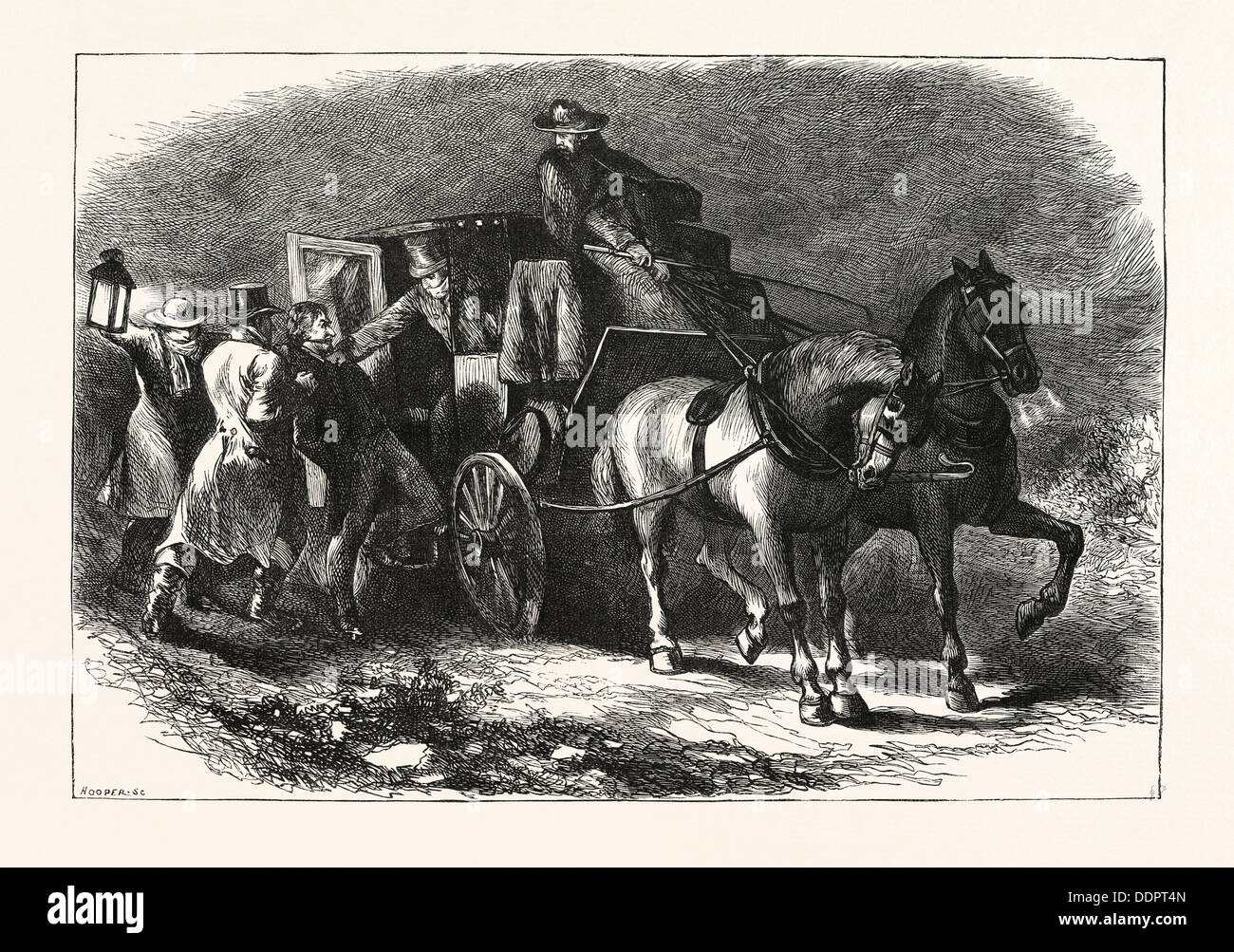 THE ABDUCTION OF WILLIAM MORGAN, He was a resident of Batavia, New York - Stock Image