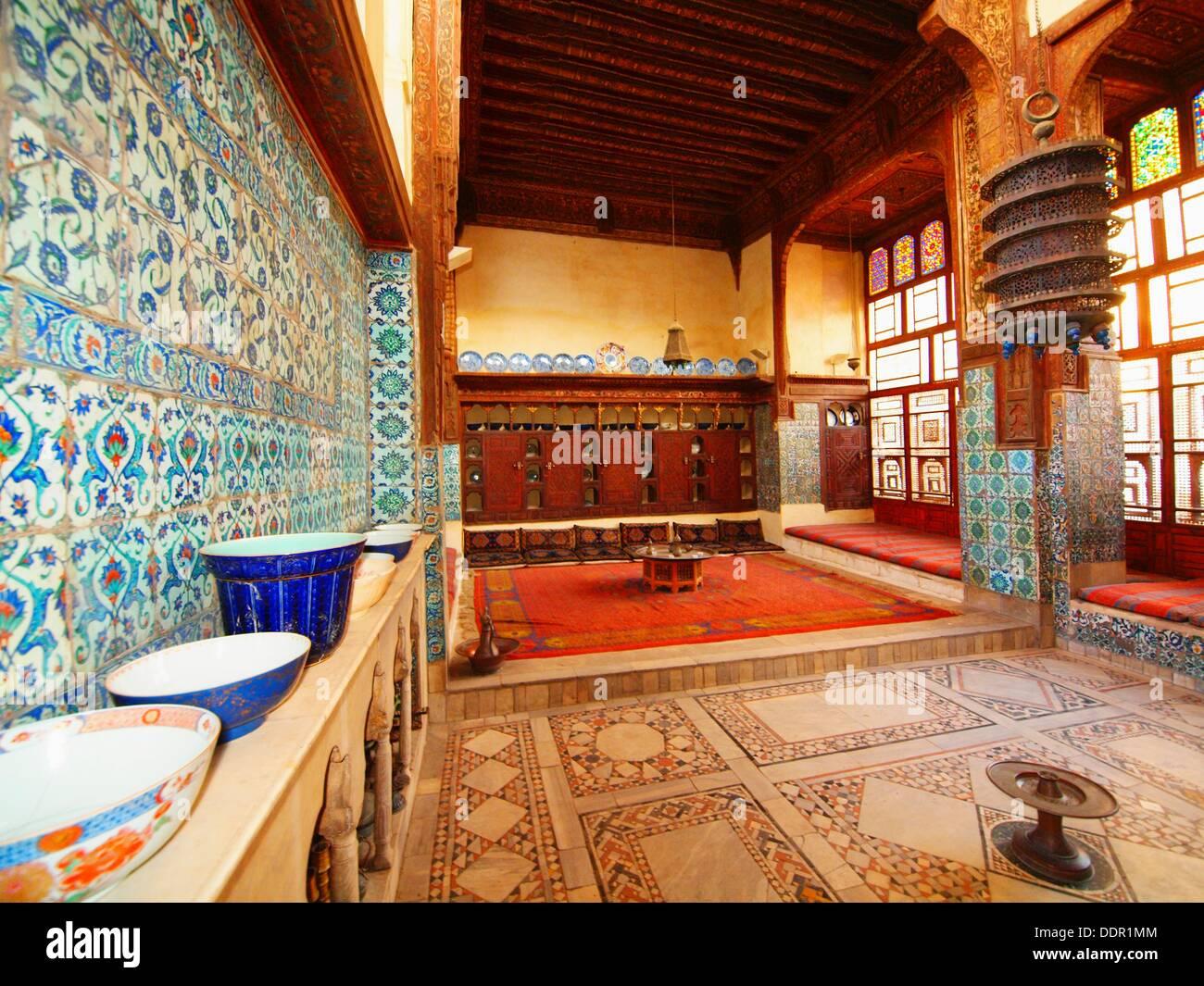 Wikala Sabil Kuttab Gamal al Din Al Dahabi, Cairo, Egypt - Stock Image