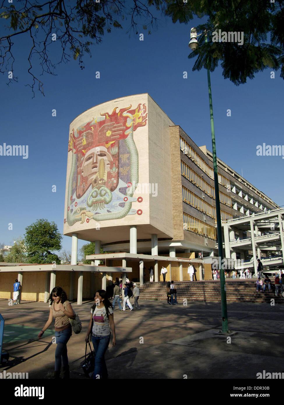 Medical School, Universidad Nacional Autónoma de México, Ciudad de Mexico - Stock Image