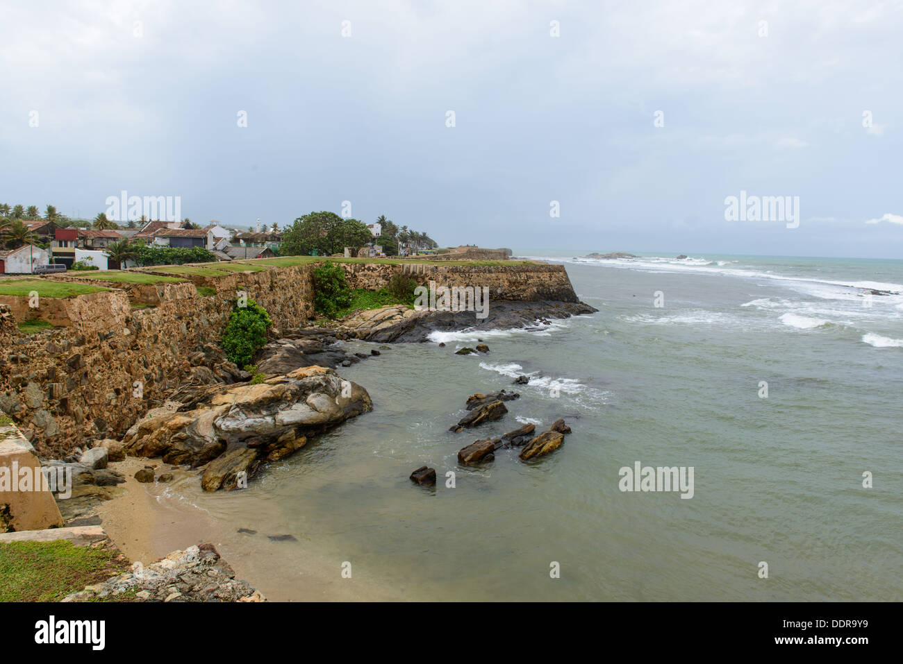 Sri Lanka, South Coast. city of Galle Stock Photo