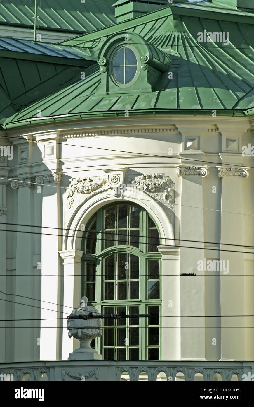 National theatre of Riga. Letonia - Stock Image