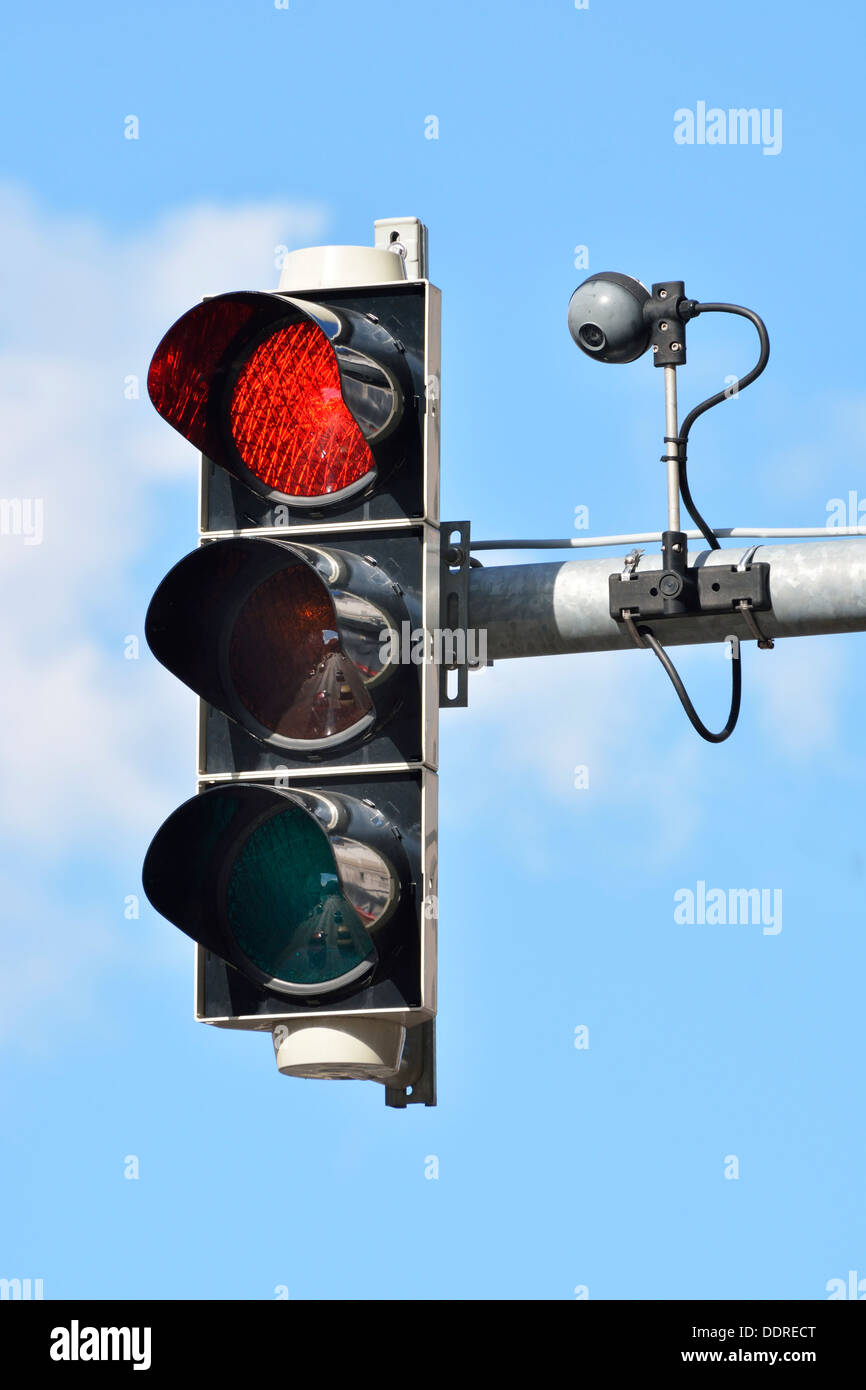 Traffic Light With Camera For Traffic Control   Stock Image Nice Look