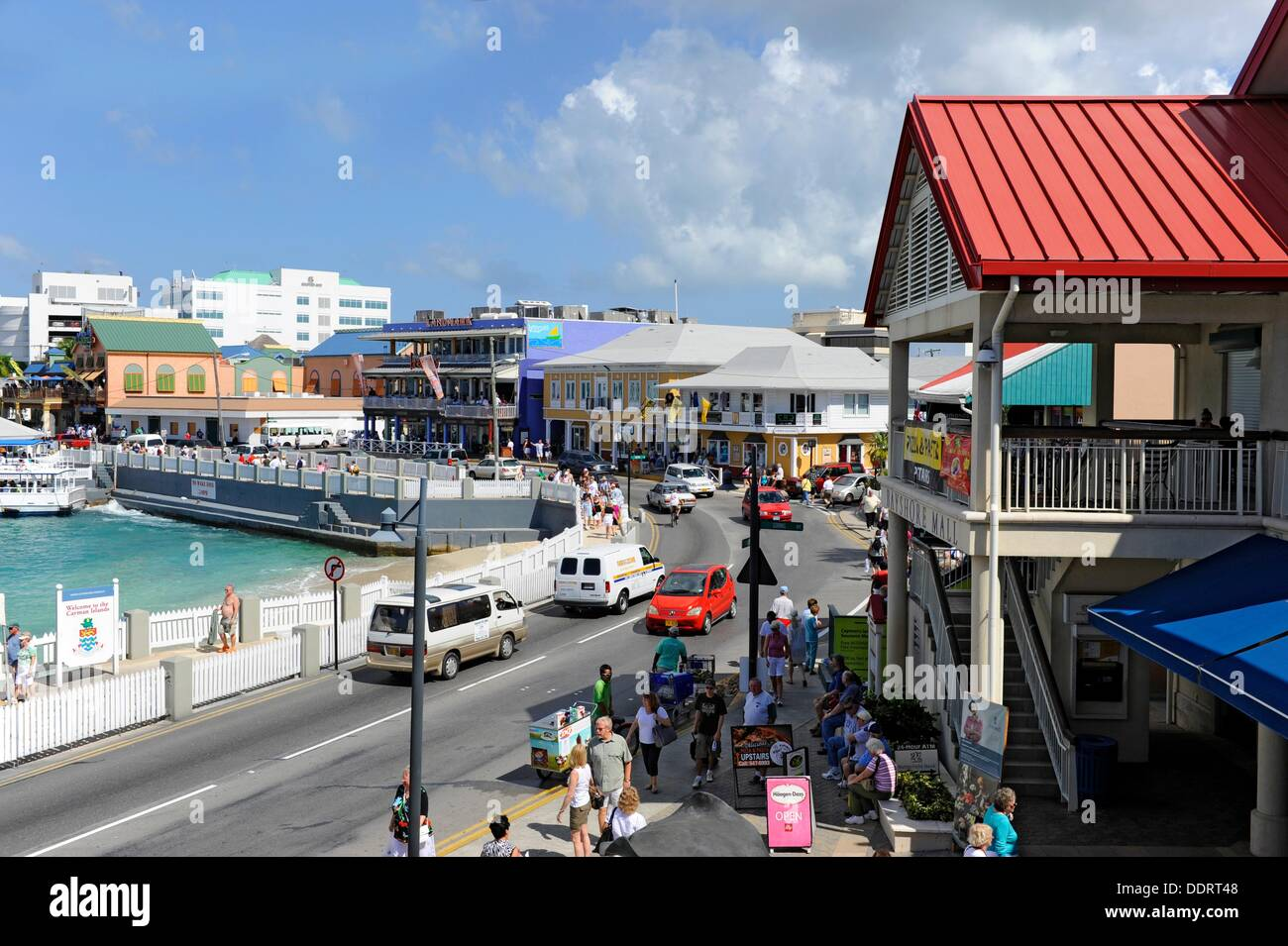 Grand Cayman Island Downtown
