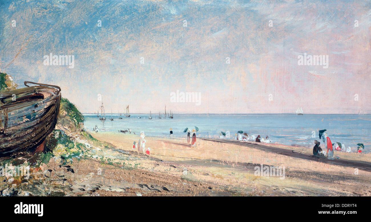 'Brighton Beach', 19th century. Artist: John Constable Stock Photo