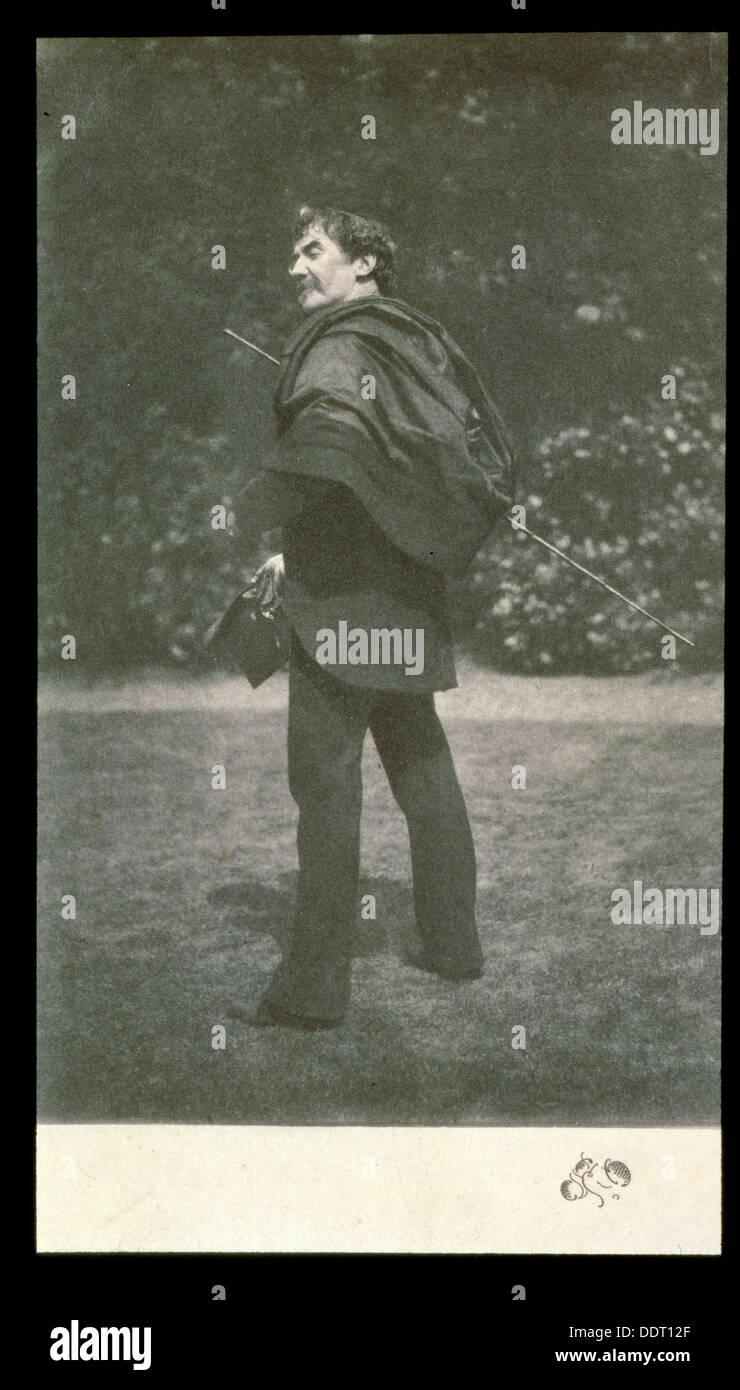 James Abbott McNeill Whistler, American-born British artist, late 19th century. Artist: Unknown - Stock Image